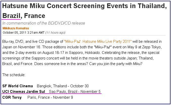 festa uci jardim sul:Hologramada na cara da Sociedade News – Hatsune Miku no Burajiru!